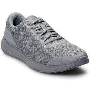 Under Armour grey shoes size 10